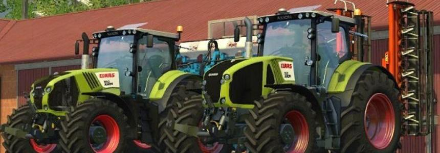 CLAAS AXION 950 & 850 PACK v1.2