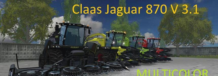 Claas Jaguar 870 MULTICOLOR - Multifruit v3.1