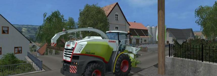 Claas Jaguar 870 Texture v1.0 by jjgg349