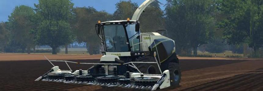 Claas Jaguar Black Edition Texture v1.0