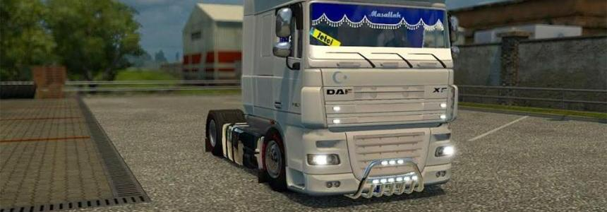 Daf Xf White Angel