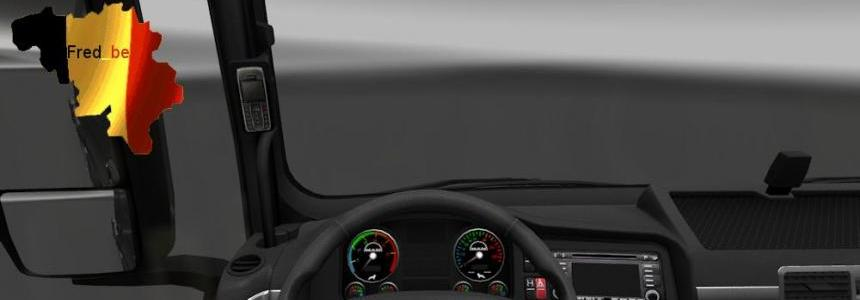 Dashboard for MAN TGX 1.23.x