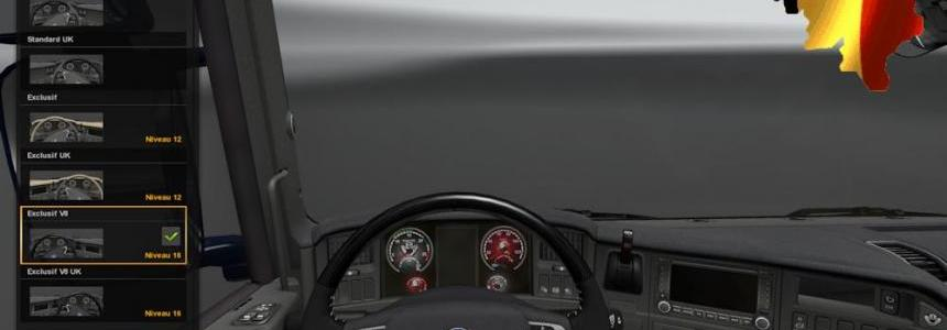 Dashboard for Scania 1.23.x