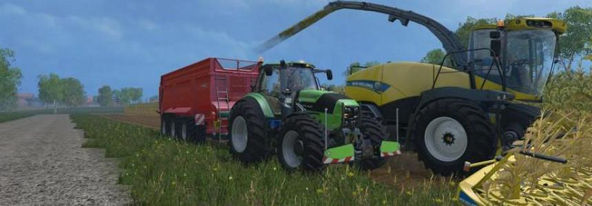 DEUTZ FAHR 7250 TTN WARRIOR v8.0 Final