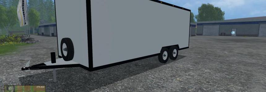 Enclosed Utility Trailer v1