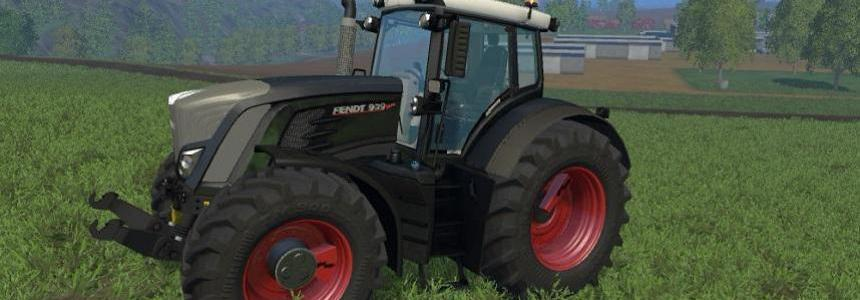FENDT 900 SERIES BLACK v1