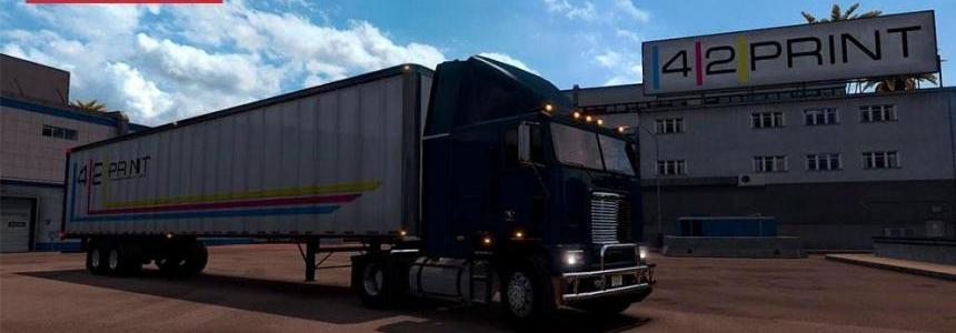 Freightliner FLB edited by Solaris36 For ATS