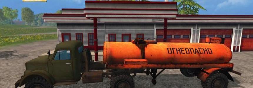 GAZ 63 P + Fuel Tankertrailer v1.0