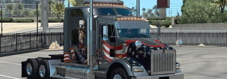 GT-Mods Kenworth T800 2016 v0.3.3