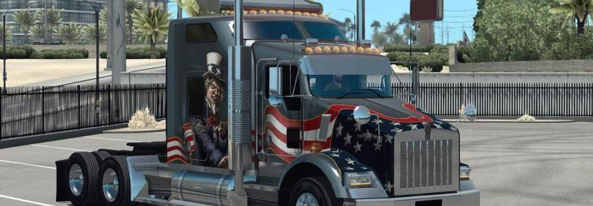 GT-Mods Kenworth T800 2016 v0.5.1