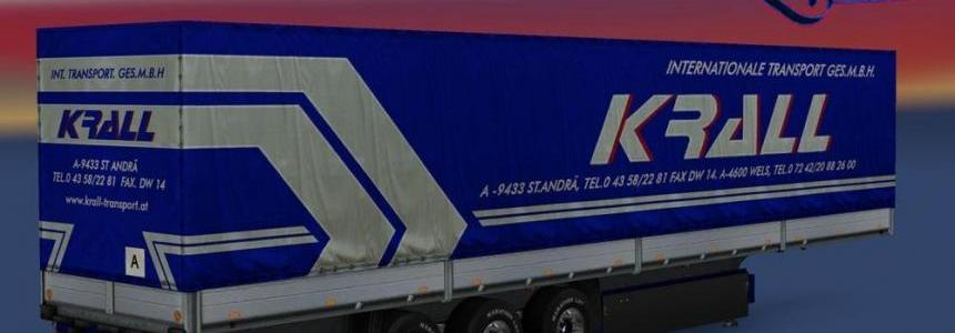 Krall Int. Transport Schmitz Trailer 1.23