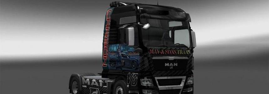 MAN NFS Carbon Skin
