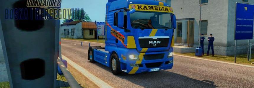 MAN TGX E5 Kamelia Skin Replica