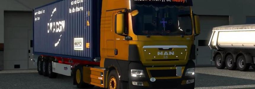 MAN TGX Reworked by MADster + Cabin DLC v2.1