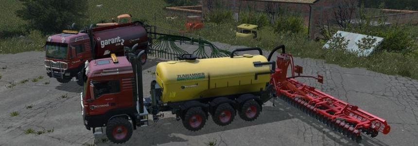 MAN TSG 10x8 10x8 liquid Manure pack Beta