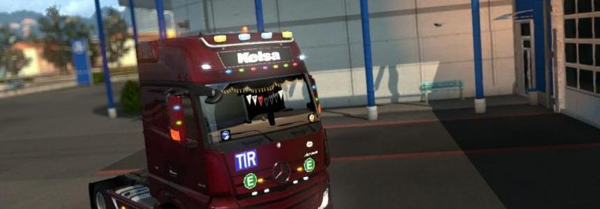 Mercedes Actros Mp4 V1.12