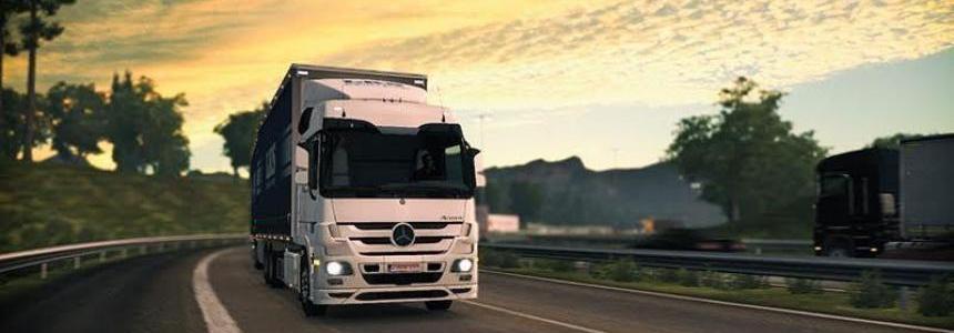 Mercedes Actros MPIII sound Telligent gearbox