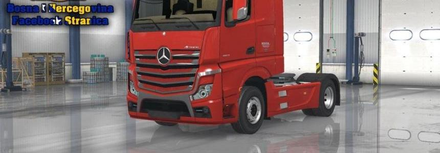 Mercedes MP3 Medion Skin Replica 1.23