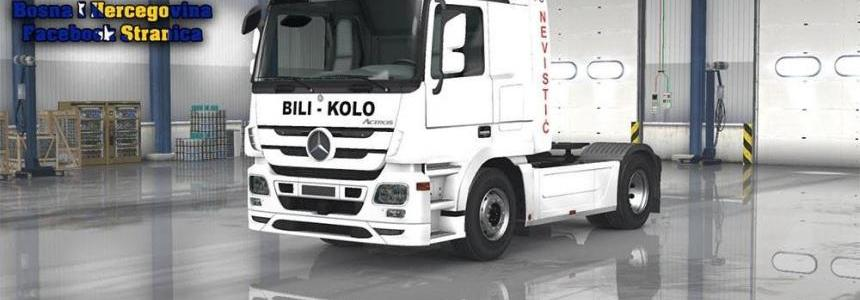 Mercedes MP3 Nevistic Commerce Skin Replica 1.23