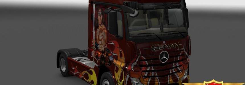 Mersedes Benz New Actros Conan skin 1.23