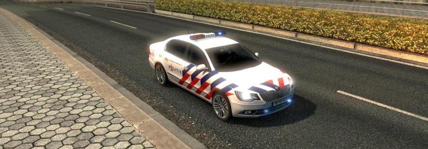 Nederland Politie TMP Skoda Scout Skin v1.0