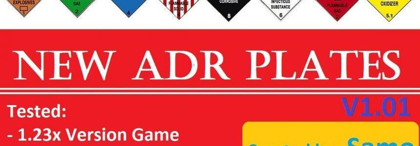 NEW ADR Plates V1.01