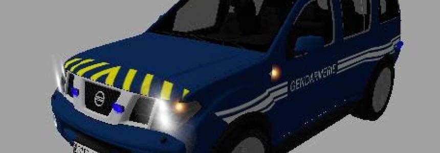 Nissan Pathfinder Gendarmerie v1