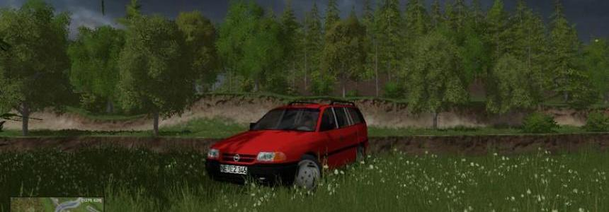 Opel Astra F Caravan 1.7 TD Club v4.0 Update