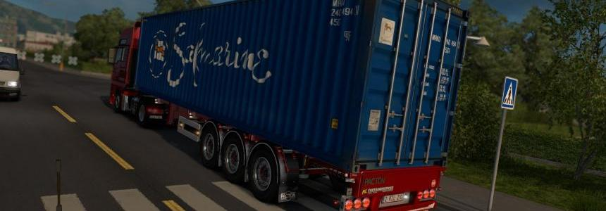 Pacton Container Trailer 1.23