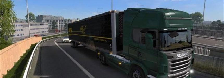 Pack V8 sounds for Scania 1.23