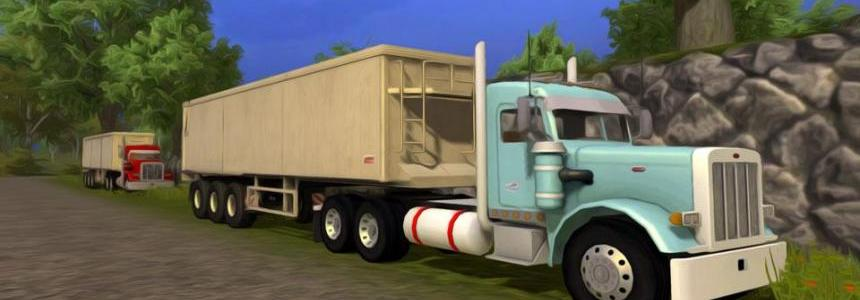 Peterbilt 379 Daycab v1.2 with sound fixed