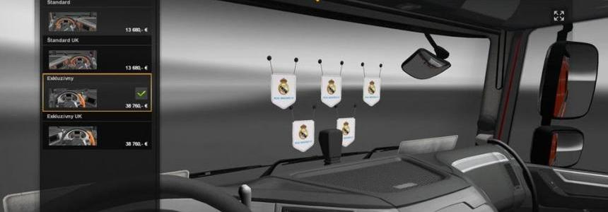 Real Madrid CF Flag 1.23