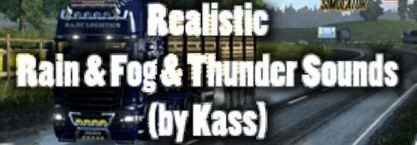 Realistic Rain & Fog & Thunder Sounds v3.4