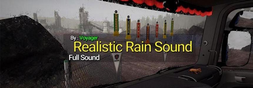 Realistic Rain Sound