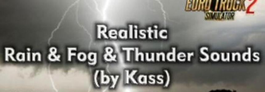 Realistic Rain & Thunder Sounds v1.1