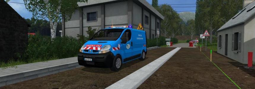 Renault trafic urgence gaz V2