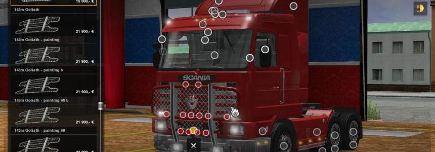 Scania 143M v3.6 Cabin DLC Support 1.23