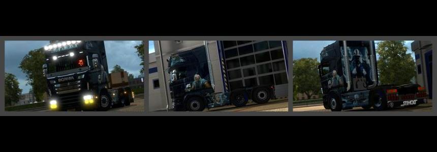 Scania RJL Mighty Zeus (Dota 2) Skin 1.23