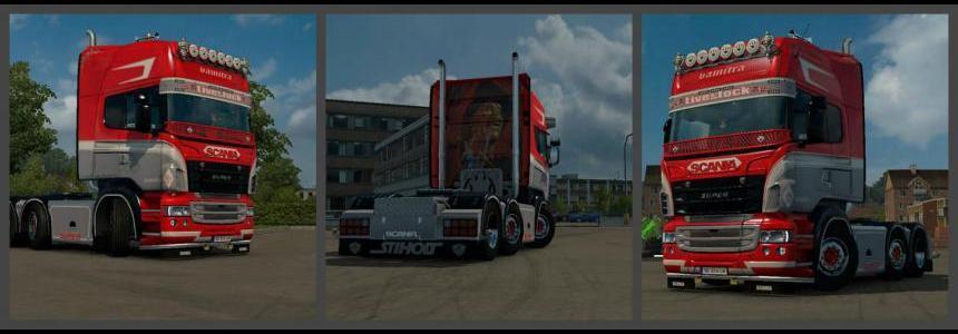 Scania RJL Vamitra Skin 1.23