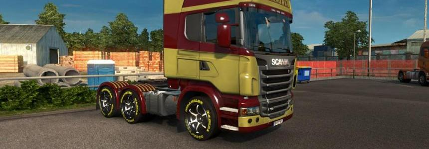 Scania RS Rubin Skin