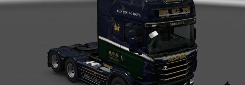 Scania R&S Topline  H.C.N. transport skin 1.23