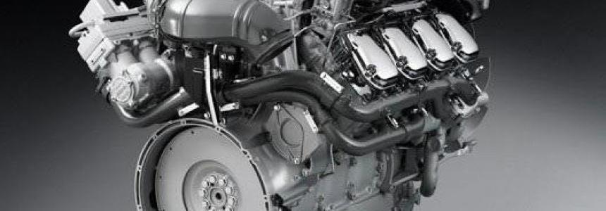 Scania V8 Real Engine