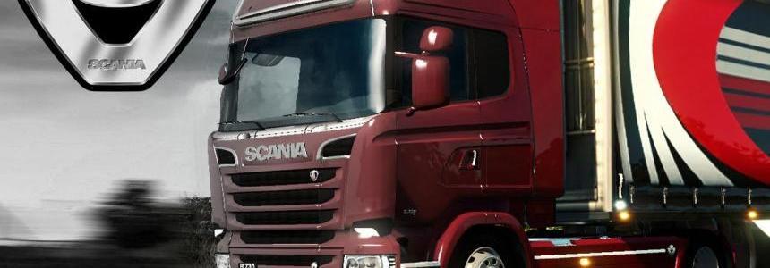 Scania V8 Sound Pack 1.23.х - 1.23.3.1s