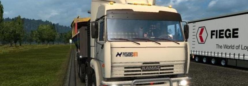 Skin Rus Business Auto for Kamaz 54-64-65 1.23