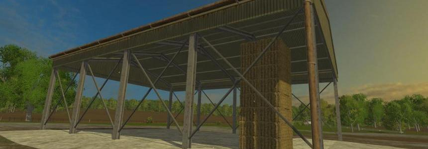 Small basic farm hay shed v1.0