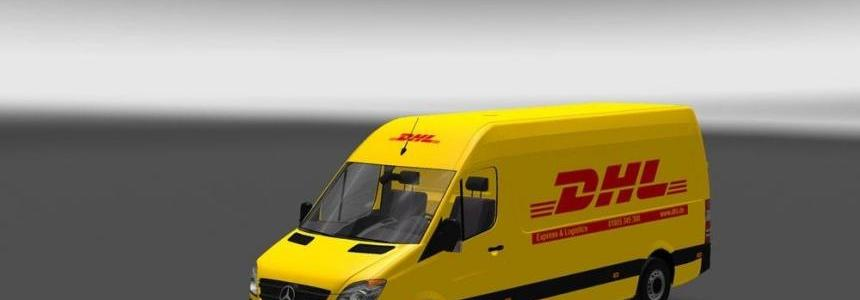 Sprinter 311 CDI DHL Skin