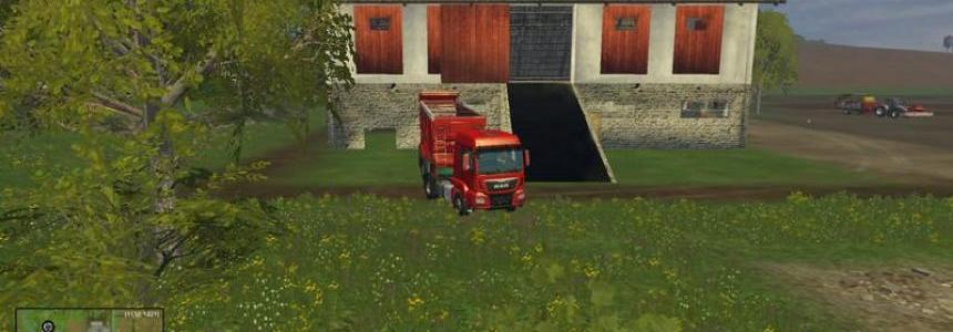 Stall placeable with manure v1.0