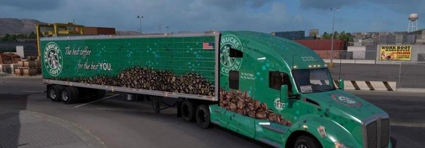 Starbucks Reefer 3000R Trailer