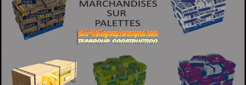 TFSG PACK PALETTES CONSTRUCTION + BONUS PACK