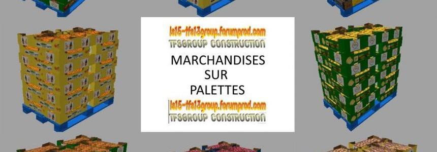 TFSG PALETTES DE FRUITS PRIMEURS